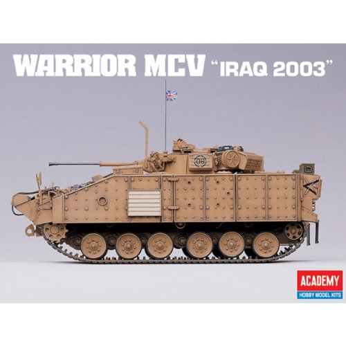 Academy Warrior MCV 'Iraq 2003' Military Land Vehicle Model Building Kit by Academy Models (Image #6)