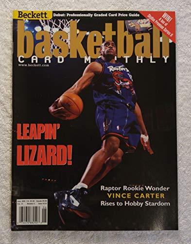 Rookie Wonder Vince Carter - Toronto Raptors - Beckett Basketball Monthly Magazine - #107 - June 1999