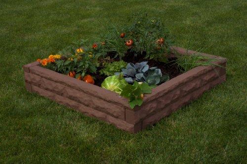 Good Ideas GW-RBG-RED Garden Wizard Raised Garden Bed, 4-Piece, Red Brick by Good Ideas (Image #1)