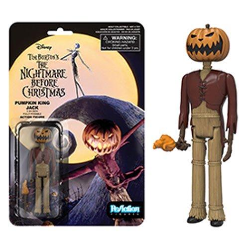 Funko Reaction The Nightmare Before Christmas Pumpkin King Jack Skellington Toy (Christmas Jack Pumpkin)