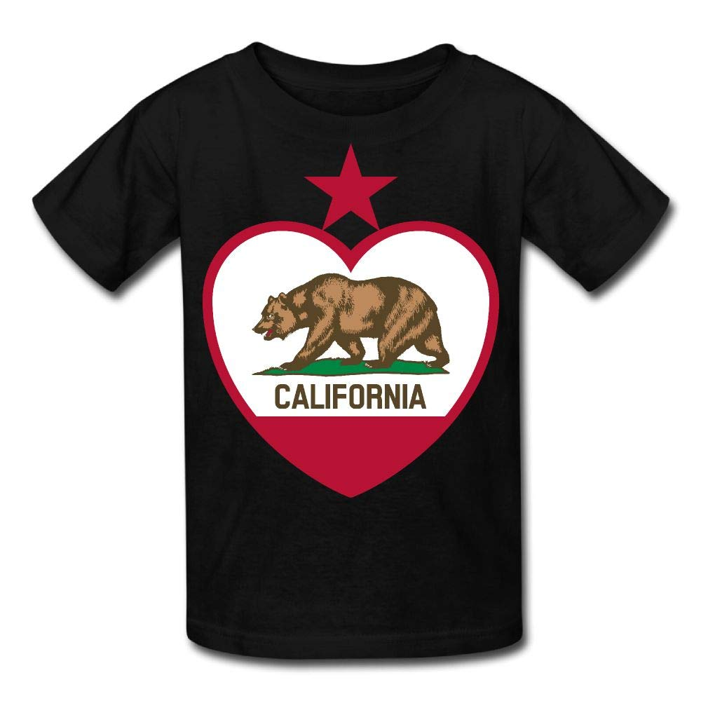 Moniery Short-Sleeve Shirt California Bear Youth Girls