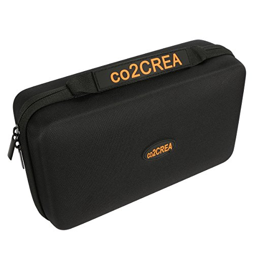 """co2CREA (TM) Universal Hard Shell EVA Carrying Storage Travel Case Bag for Powerbank HDD / Electronics/Accessories Extra Large (10.2""""x""""6.4''x3.2'' inch) by Co2Crea (Image #3)"""