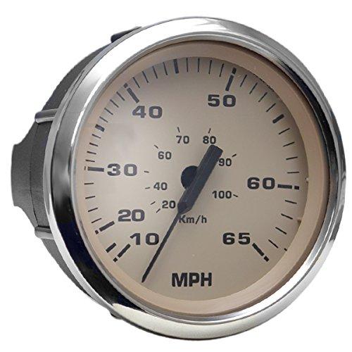 Faria Boat Speedometer SE9396A | 65 MPH 3 3/4 Inch ()