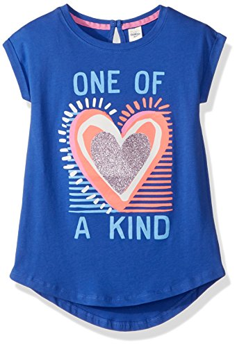 Osh Kosh Girls' Kids Short-Sleeve Knit Tunic, One of A Kind, 4-5