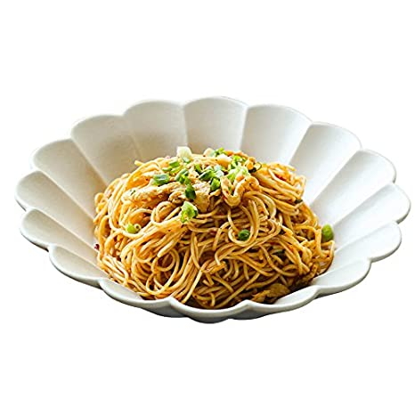 XIAPENGPlatos creativos de Estilo japonés y Platos de Estilo para Platos de Cocina casera Plato Plano