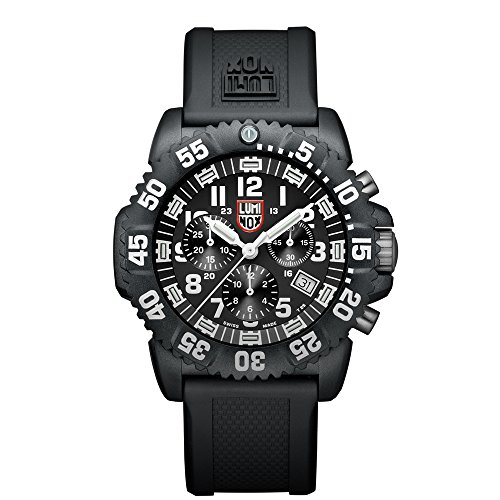 Luminox Sea Colormark Chronograph 3080 Men's White Arabic Numerals Watch A.3081