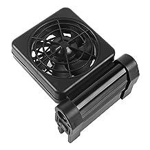 iPettie Aquarium Cooling System Fan Fish Tank Water Chiller + AC Adapter, 1/2/3/4/5/6 Fans