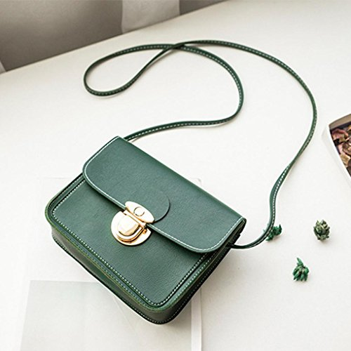 Shoulder PU Women Leather Bag Green NXDA Bag Bag Girls Bag For Messenger Handbag Crossbody Bag Bag Women Phone Pink Purse Coin and TTqt0