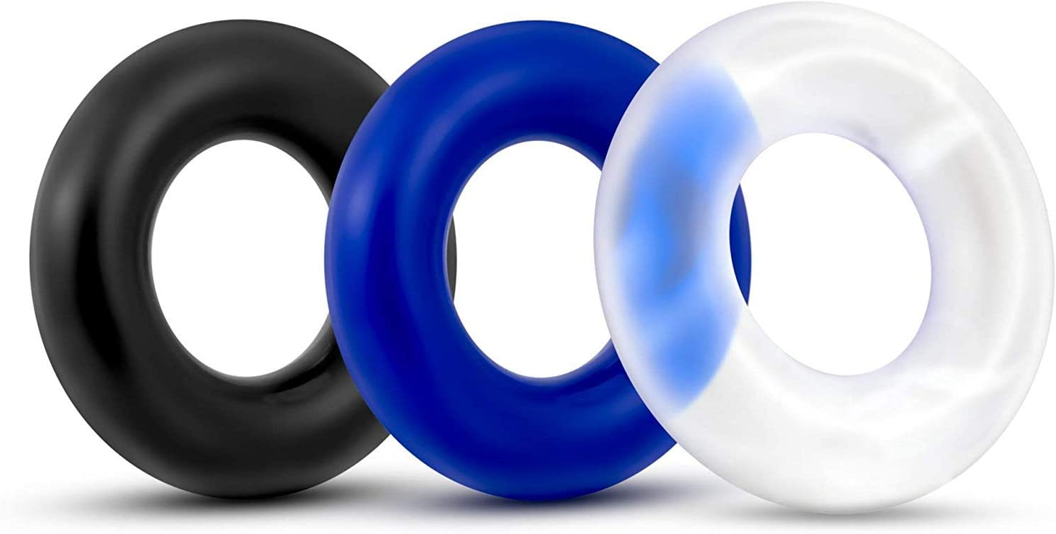 UFMMD Exercise Bands 3 PCS Rings Flexible Silicone