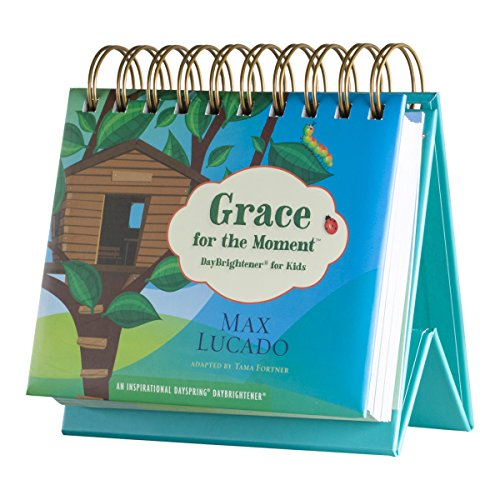 DaySpring Max Lucado's KIDS Grace for The Moment Perpetual Flip Calendar, 366 Days of Inspiration (53651)