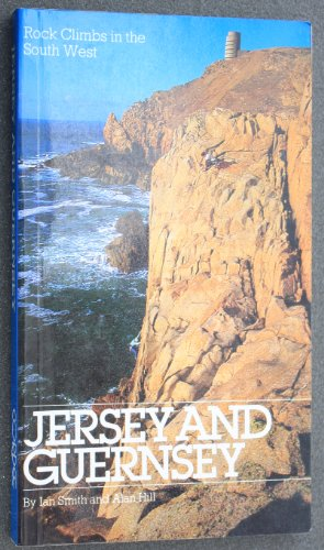 Rock Climbs in the South West: Jersey and Guernsey - Map Jersey Guernsey