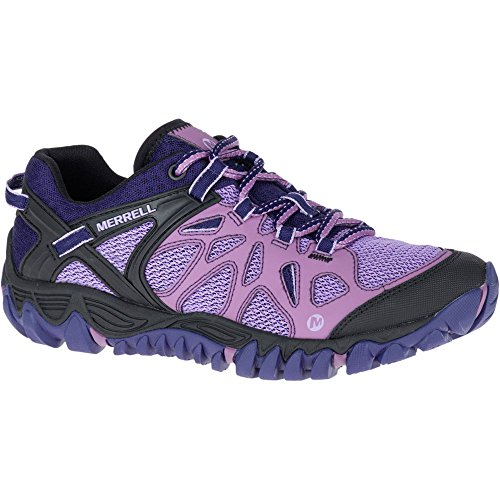 Merrell Women's All Out Blaze Aero Sport Trail Runner, Very Grape, 8.5...