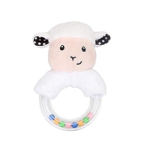 Traqueteos del bebé juguetes para bebés Sacudiendo ovejas de dibujos ...