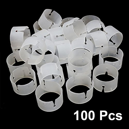 100 Pcs, The Elixir Party Decorative Decor Balloon Rings Buckle Balloon Arch Folder Convenient Clip Connector Balloon -