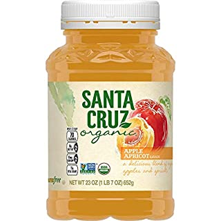 Santa Cruz Organic Apple Apricot Sauce, 23 Ounces (Pack of 12)