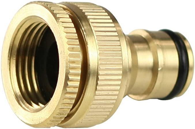 "1//2/"" Brass Quick Connect Hose Pipe Joiner Male to Male Garden Connector"