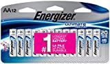 Energizer Ultimate Lithium AA Batteries, 12 Count