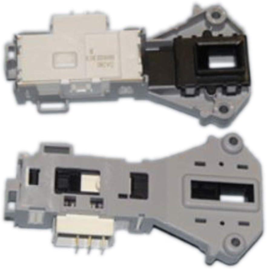 ANCASTOR Blocapuertas 3 terminales rold de Lavadora LG, Samsung, Daewoo DA081, 8754839, DA081043