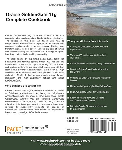 Oracle Goldengate 11g Complete Cookbook Pdf