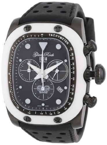 Glam-Rock-Unisex-GR70108-Gulfstream-Collection-Chronograph-Black-Silicon-Watch