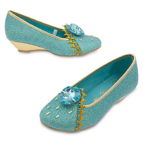 [DISNEY STORE PRINCESS JASMINE COSTUME SHOES ~ ALADDIN ~ 2016 (13/1)] (Jasmine And Aladdin Costumes)