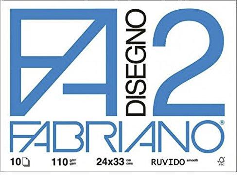 Viscio Trading 122861 Album Fabriano, Carta, Bianco, 2x33x24 cm, 10 unità Viscio Trading (VISFL) 438257