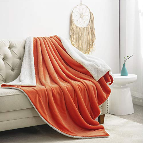 Orange Throw Blanket - 7