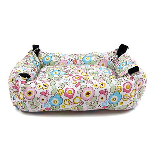 Alfie Pet by Petoga Couture - Ariel Hanging Bed for Small Animals like Dwarf Hamster and Mouse - Design: Flower, Size: Large by Alfie (Image #7)