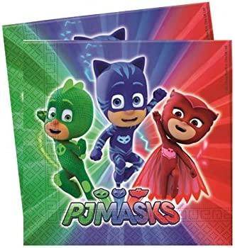 Decoraciones DE CUMPLEAÑOS PJ Masks KIT49F: Amazon.es ...