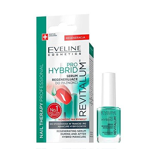 Eveline Pro Hybrid Regenerating Nail Serum During and After Hybrid Manicure 12ml