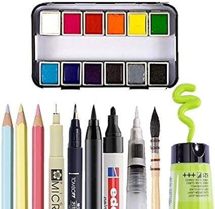 300 GSM Ivoire 10 Feuilles pour Peindre Projets dart et Plus Vaessen Creative Papier Aquarelle Florence A4 Qualit/é dartiste Handlettering Surface Textur/ée