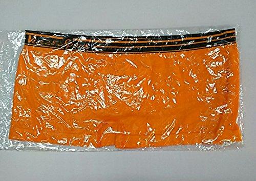 祝福ジョージバーナードトライアスリート大きめサイズ 妊婦もOK! 女性ボクサーパンツ 柔らか素材でぴったりフィット 全8色 (オレンジ)