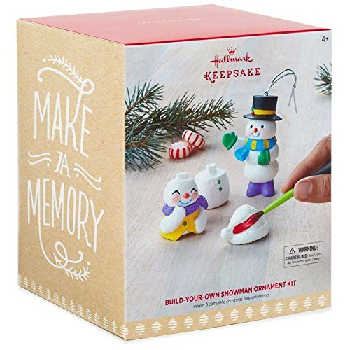 Hallmark Keepsake Build-Your-Own Snowman DIY Ornament - Snowman Diy