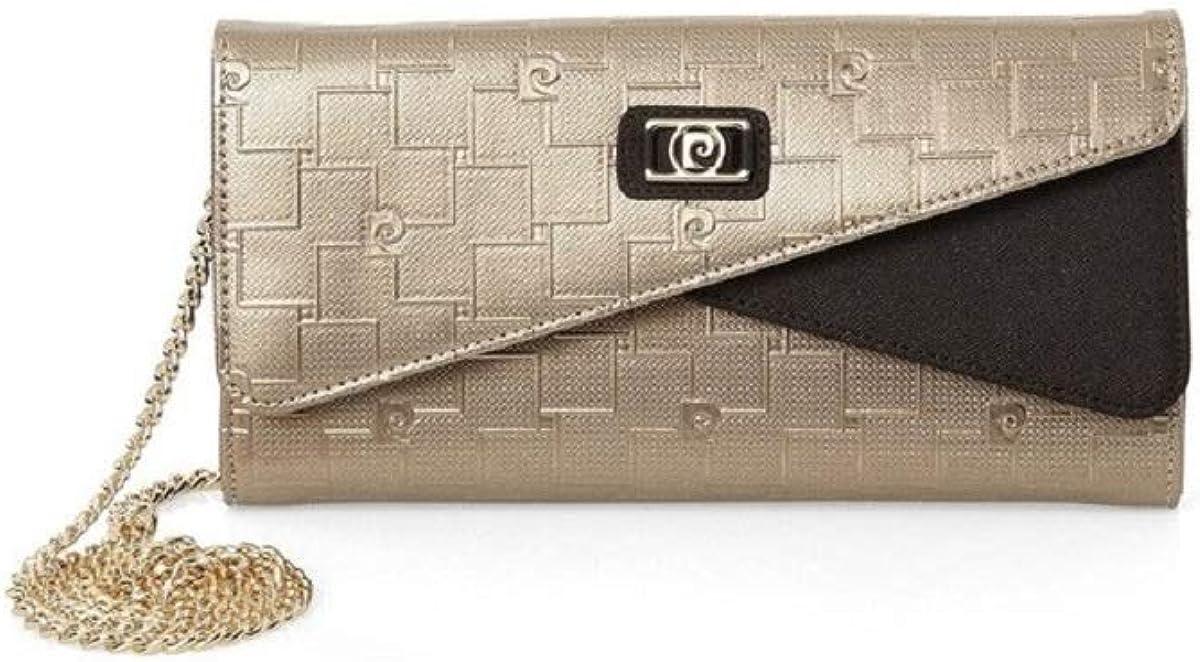 Ladies Luxury Clutch Portfolio Evening Genuine Leather Handbag