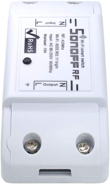MCJL WiFi del teléfono móvil Remoto inalámbrico App Tiempo de Control Remoto Inteligente del Interruptor del zócalo para un Solo Interruptor de Control Remoto: Amazon.es: Hogar
