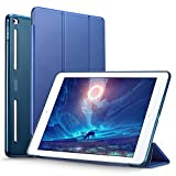 ESR Corner/Bumper Protection Smart Cover Case with Soft TPU Bumper and Auto Wake/Sleep Function for iPad Air 2/iPad 6, Ming Blue