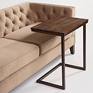 Wood Laptop Table For Couch Recliner And Sofa