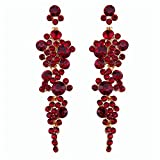 Best iVan Friend Bracelets For Kids - Trendy Romantic Earrings Flower-shaped Long For Women Earrings Review