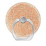 Pop Phone Ring Stand Holder 360°Rotation Reusable Ring Holder Finger Grip Universal socket Kickstand for All Cellphones rose gold blush pink crystal