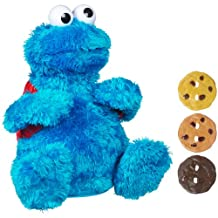 Sesame Street: Count N Crunch Cookie Monster Plush