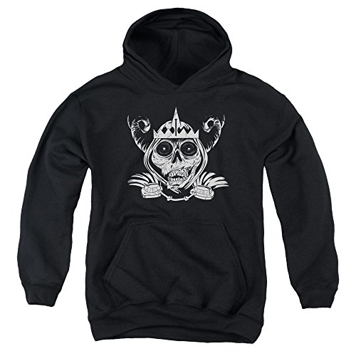 Face Skull Young Time Hoodie Black Adventure For 47vqznxOw1