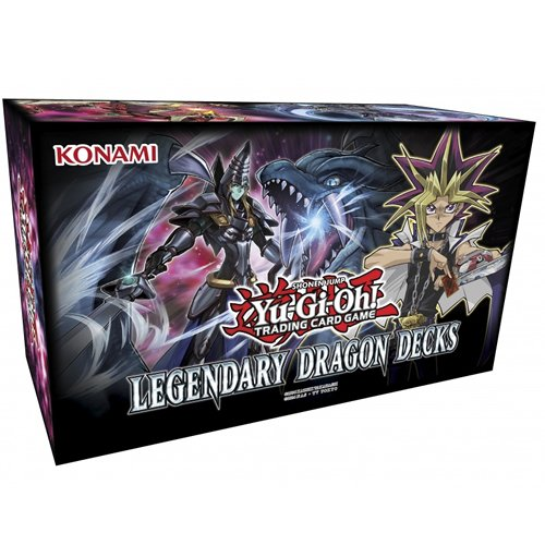 Yu-Gi-Oh! Cards Yugioh Legendary Dragon Decks Box