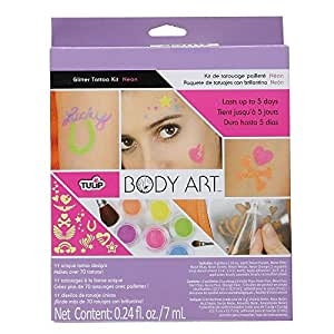 Tulip Body Art Glitter Kit, Neon