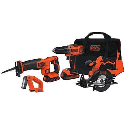 Black & Decker BDCD2204KIT 20V MAX Cordless Lithium-Ion 4-To