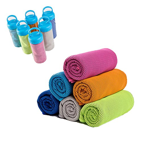 ooling Towel Absorbent Fast Cooling Sports Towel for Workout Fitness Gym Yoga Pilates Travel Camping Bowling