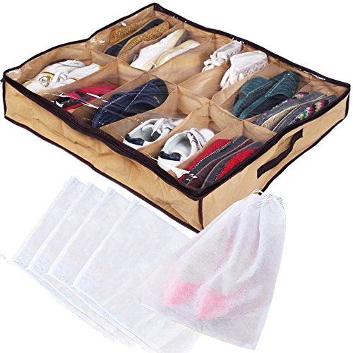 Under Shoe Organizer Adults Pairs