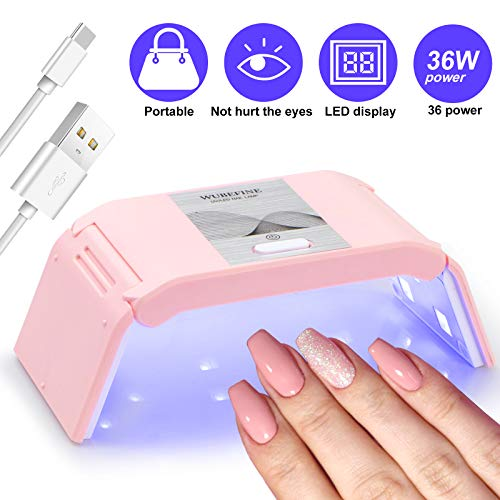 Poly Extension Gel Nail Kit, Nail Builder Gel Nail Enhancement Trial Kit, for Beginner and Professional Technician Manicure Set, with Mini Nail Lamp