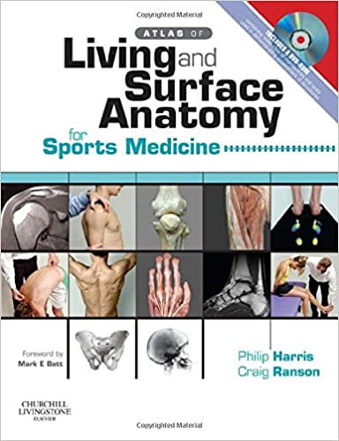 Atlas Of Living Surface Anatomy For Sports Medicine With Dvd
