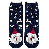 AKwell Christmas Women Winter Cotton Socks Soft Cozy Home Slipper Socks