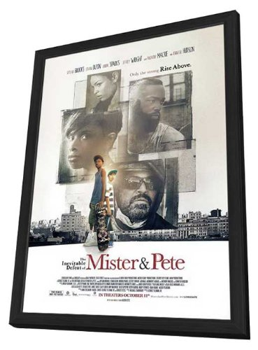 The Inevitable Defeat of Mister and Pete 11 x 17 Movie Poster - Style A - in Deluxe Wood Frame